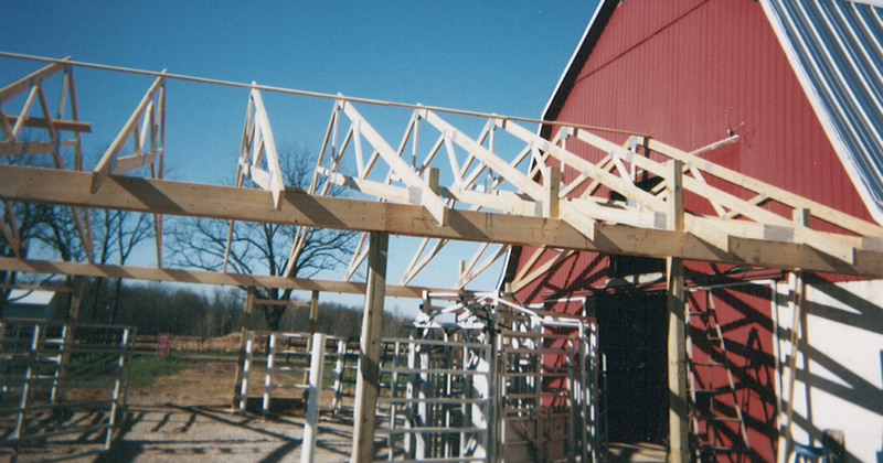 Great Lakes Sire Service barn addition